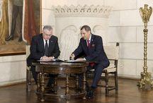 Protocol de colaborare între Societatea Română de Radiodifuziune şi Casa Regală a României / foto: Alexandru Dolea