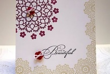 (Delicate Doilies) Stampin Up / by Tammey Tilton