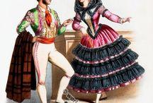 Espagnoles robes