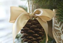 venkovní vánoční stromek