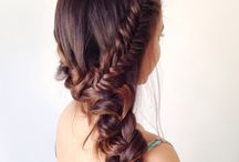 Good Hair Day / DIY how-to long hair ideas, braids, buns, up do, pony tail