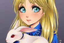 """Dibujos con """"versión anime"""""""