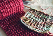 Knitting.... scarves