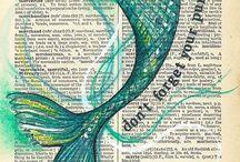 mermaid papers