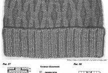 czapki i inne na drutach