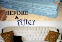 Reupholstering {DIY}