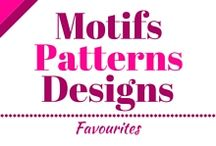 Motifs, Patterns, Designs - Favourites / Here I'll show you my favourite motifs, patterns and designs. I hope you'll love it :)