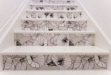 Stair Case Craze / Your feet are made for walking up or down any creative staircase style....