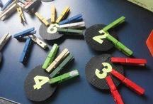 EDUCAÇÃO INFANTIL / Atividades concretas para trabalhar com os pequenos.