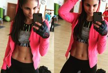 Bikini Fitness princess / Bikini Fitness princess workout motivation inspiration tips muscles and Healthy lifestyle