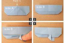 Papiroflèxia útil / Useful origami