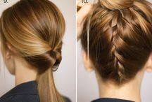 dressed up ponytail