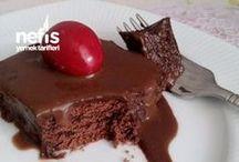 kolay fırınsiz pasta