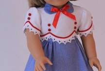American Girl / Doll clothing & accessory ideas for Little A's AGD. I refuse to pay more for a doll outfit than I pay for a child's outfit. / by Amy Webb