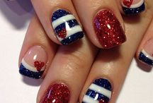 Fourth of July Nail Art / Here are some of my favorite Fourth of July Nail Art inspirations! / by Miss Niki