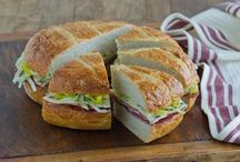 Scrumptious Sandwiches  / Here is a selection of sandwich ideas from your good ole classics to unique combinations and creations.