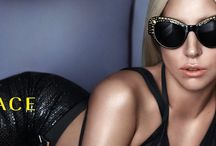 Versace Sunglasses Luxury Eyewear / New Exclusive Collection Versace Eyewear with Lady Gaga http://www.diecidecimi.org/it/Default.aspx?Pinterest=