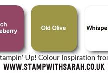 Stampin' Up! Colour Inspiration
