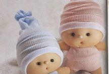 muñecos con medias