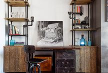 Interiores Vintage / Interiores con un estilo clásico contemporáneo. Muebles restaurados, elementos arquitectónicos reutilizados...