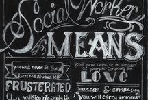 Social Work :) / by Rachel Haptonstall
