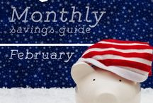 Monthly Savings Guide