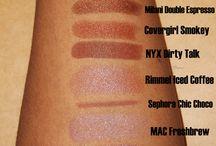 Make up for dark women.