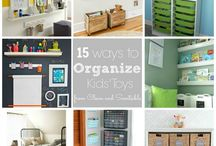 ** Organizing For Kids ** / Home Organization Ideas for KIds