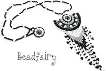 BEADFAIRY MEDALLION - LONG NECKLACES