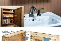 fürdőbe falipolc