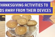 Three easy Thanksgiving activities to lure your kids away from their devices
