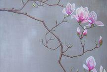 Ζωγραφική λουλουδια
