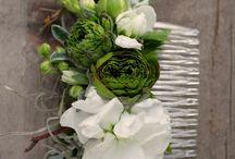 Hair Floral Designs, Pomanders & Accessories