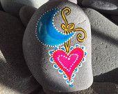 PIEDRAS / arte ,color , diversión y bella sobre piedras pintadas