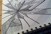 Tegninger. / Disse tegninger kunne måske inspirere nogen til at tegne.
