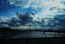 一雨来る気満々です。 Heavy rain will be come. #sky #clouds #skyview #landscape #入道雲 #空 #イマソラ写真