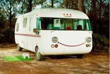 Old Motorhomes On The Road