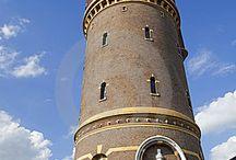 Watertorens in Holland