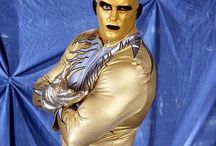 Goldust from the WWE