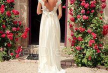 Wedding lace dress