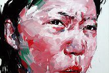 painting - kwangho shin