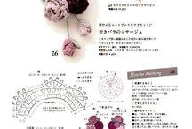 Kwiaty na szydełku / crochet flower