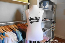 Ladies Tees / T-shirt designs from Guilty Clothing Company