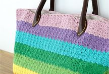Crochet Bag Patterns and Crochet Purse Patterns / Crochet purses, Crochet handbags, Crochet totes, Crochet market bag patterns and more Crochet Patterns free and paid!