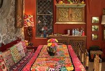 Hippie decor