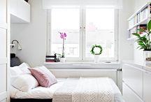Небольшие спальни