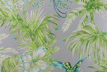 BLUE-GREEN Patterns & Prints