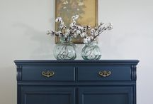 Painted Furniture- BLUE
