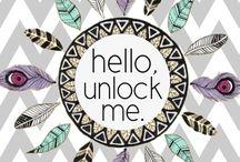 unlock phone cutes