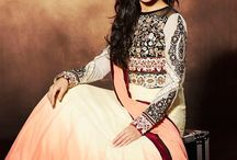 Celebrity Anarkali Dresses / Get the graceful diva collection with our brand new variety of Celebrity inspired anarkali dresses that will turn all heads on you in parties. Pick your favorite one now from http://www.mishreesaree.com/Online/New-Arrivals/Latest-Salwar-Kameez